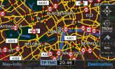 London map with speed and red light cameras
